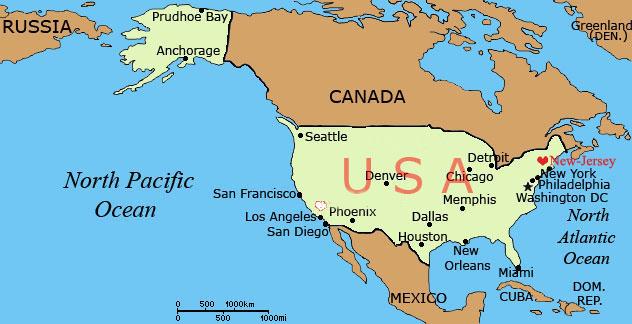 Где находится нью йорк в какой стране